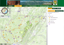 West virginia dnr wildlife resources for Dnr fishing report md