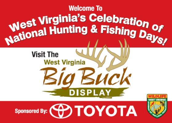 Wv big bucks banner for Wv dnr fishing license